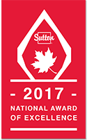 SUTTON 2017 Ntional Award of Excellence
